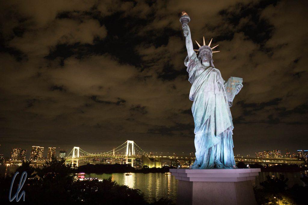 Die Freiheitsstatue von Tokyo