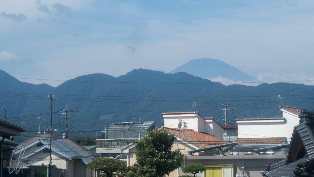 Fuji-san in der Ferne