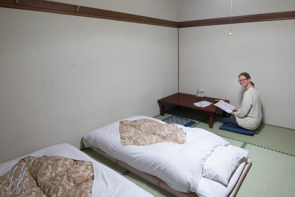 Hotelzimmer auf Japanisch in Hakone