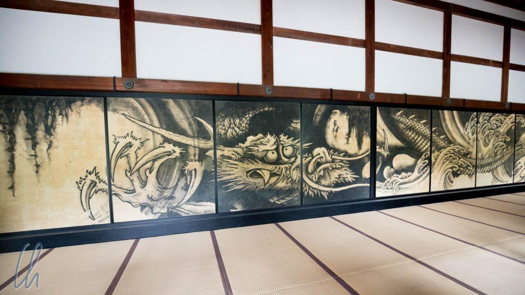 Drache im Tenryū-ji Tempel