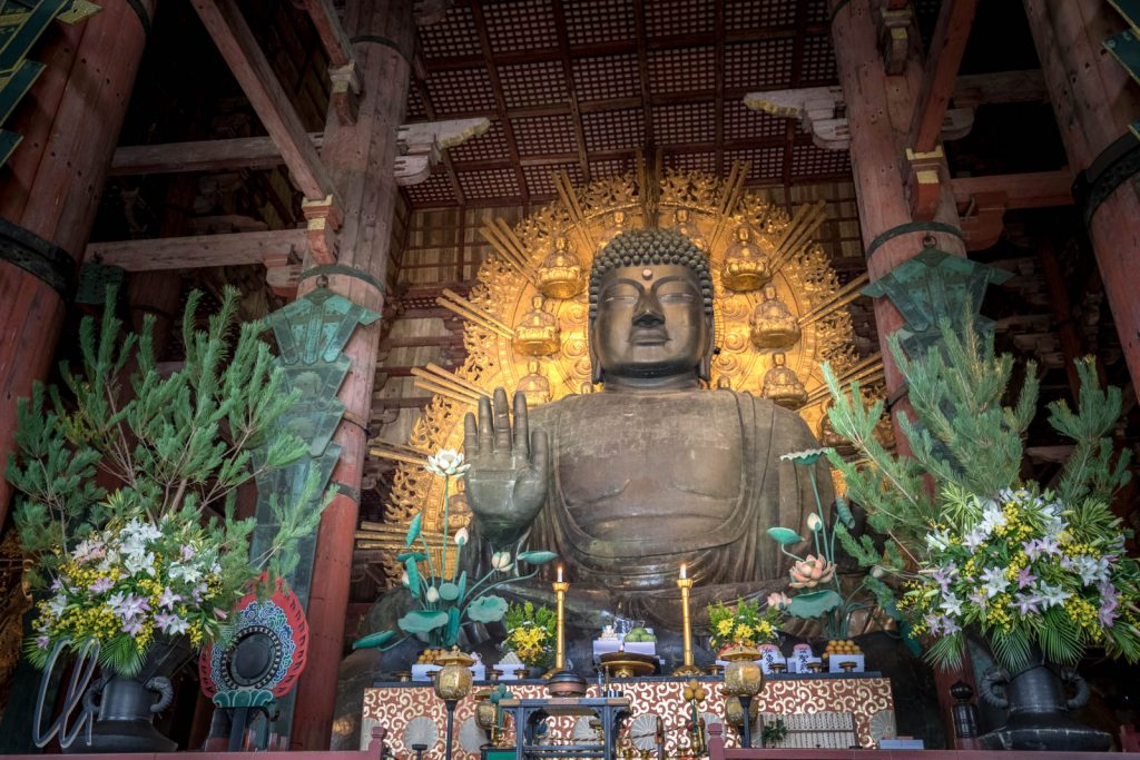 Der große Buddha von Nara