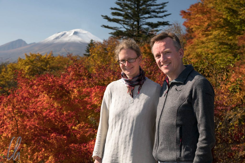 Fall Colors und Mt. Asama