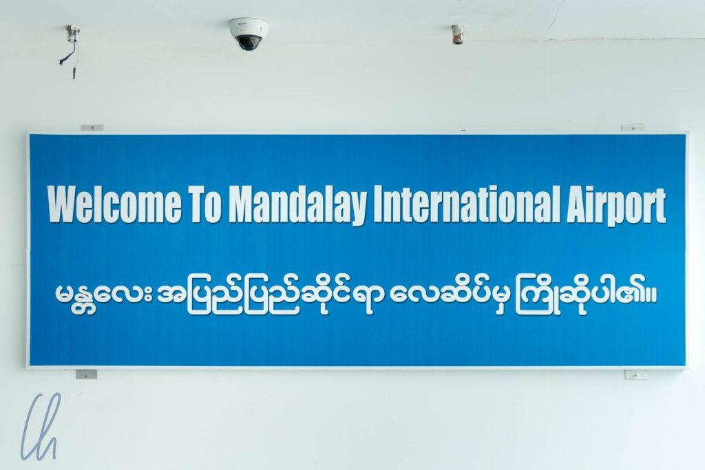 Wir sind in Mandalay angekommen