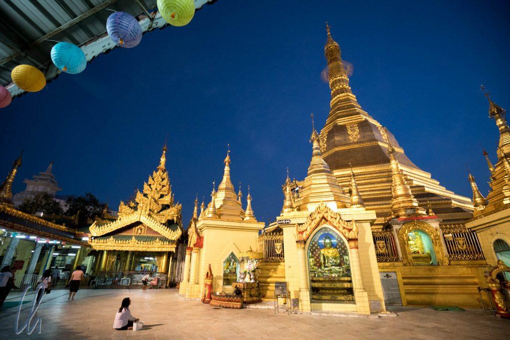 Die Sule Pagode in Yangon