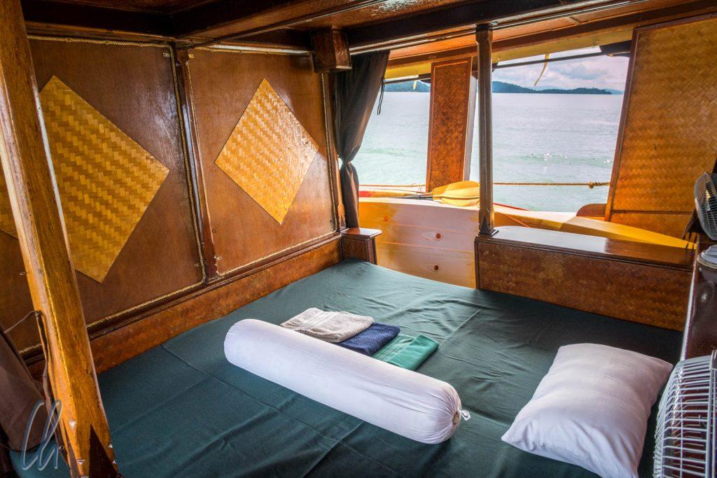 Unsere Kabine auf der Sea Gypsy