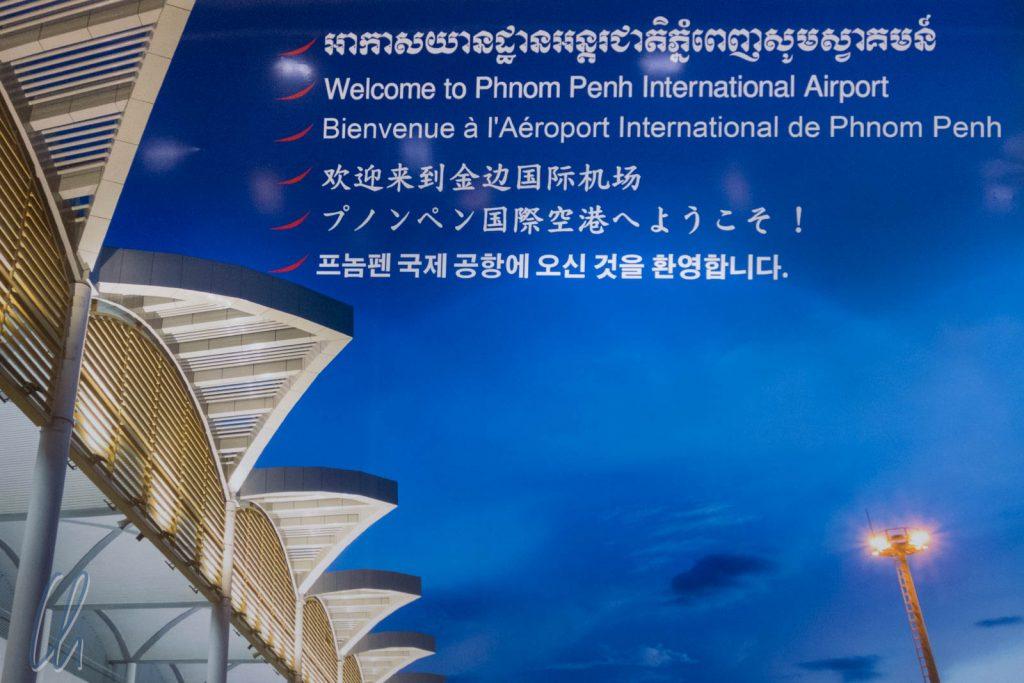 Willkommen in Phnom Penh, der Hauptstadt von Kambodscha