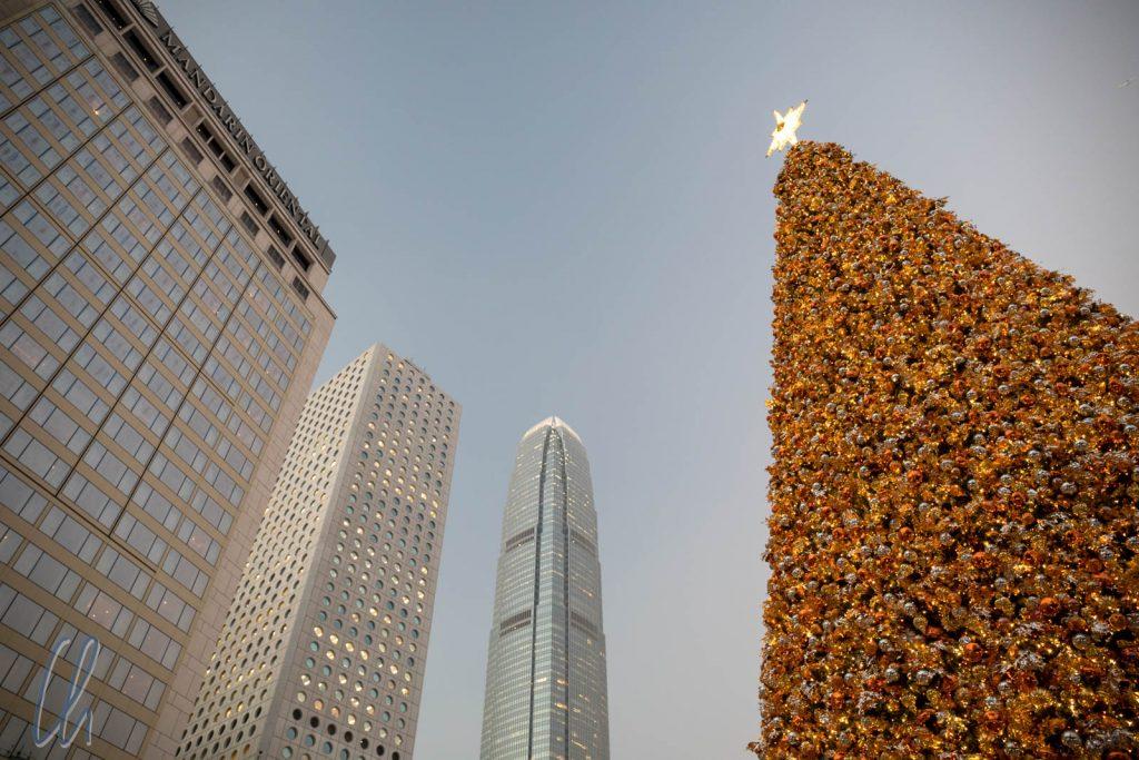 In Hongkong ist alles etwas größer