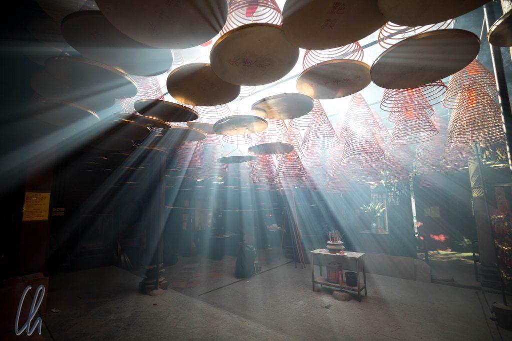 Magische Stimmung im Tin Hau Tempel