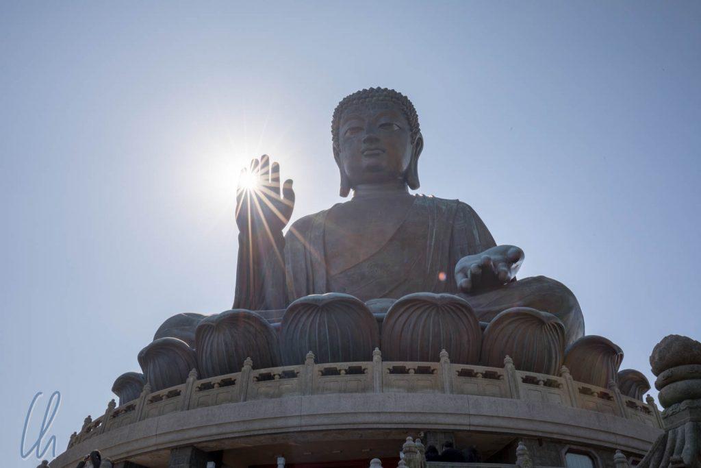 Der große Buddha von Lantau