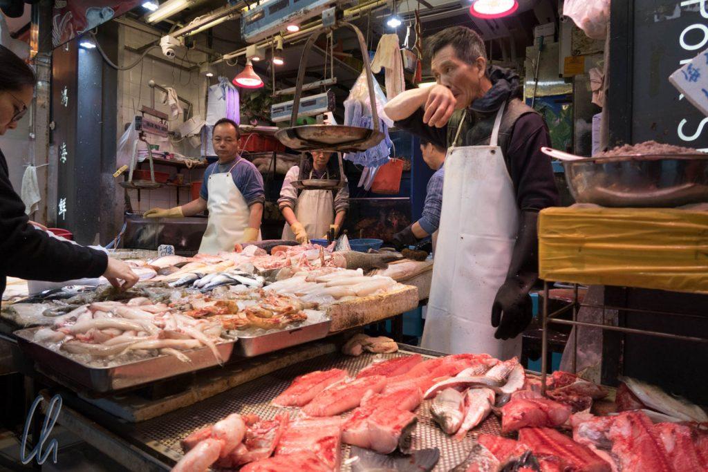 Fischmarkt, nur wenige 100m von Central entfernt