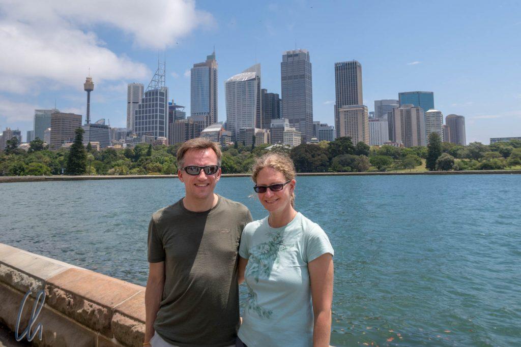Die Skyline von Sydney