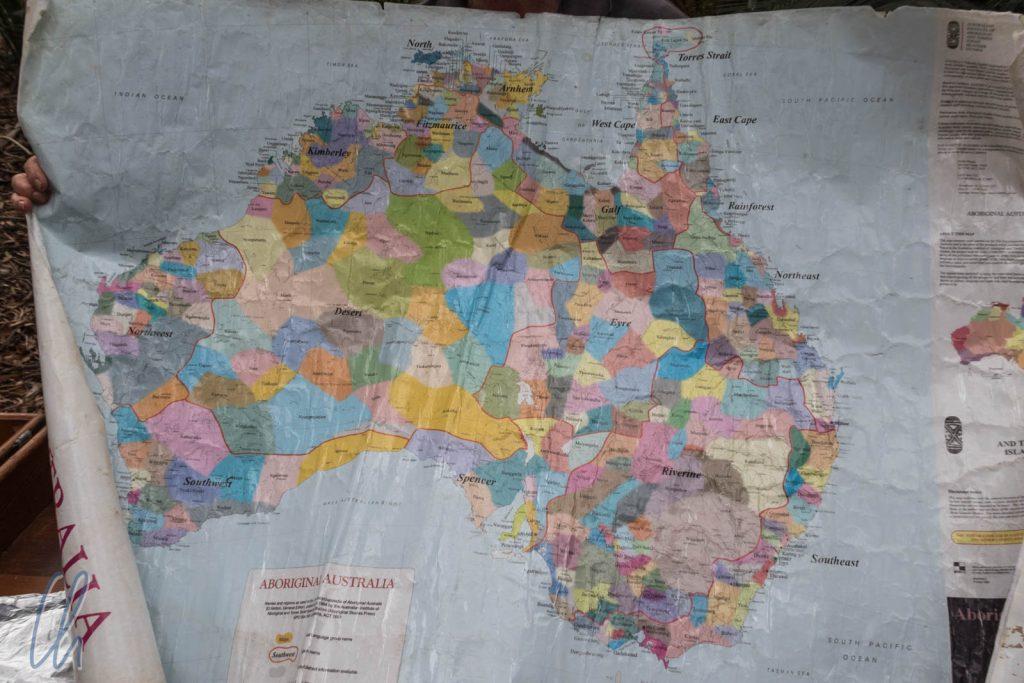 Die Stämme von Australiens ersten Bewohnern