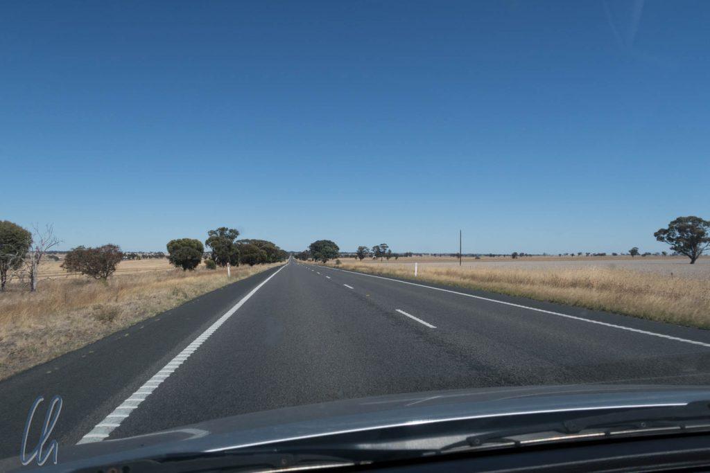 In Australien wird links gefahren