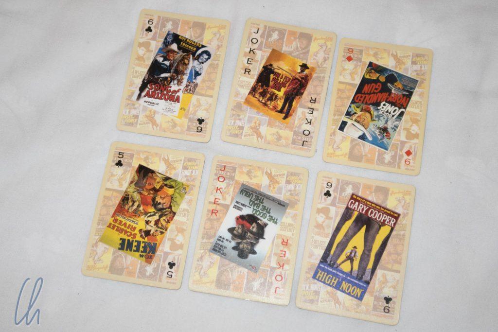 Das Spiel endet, wenn alle Karten aufgedeckt sind. Diese Karten zählen 11 Punkte