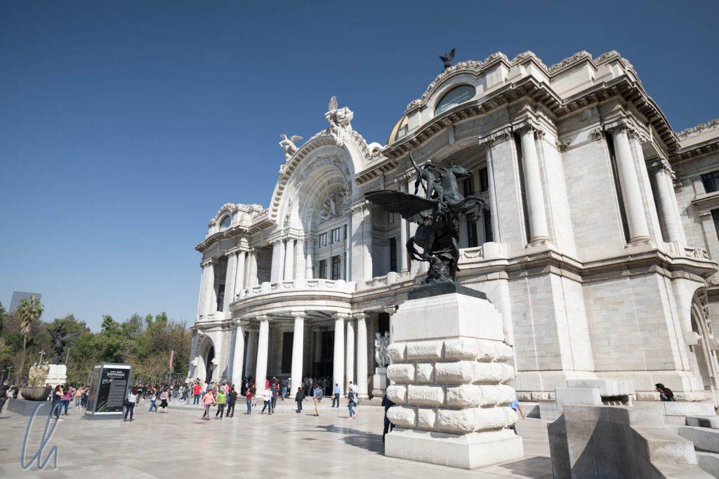 Der Palacio de Bellas Artes in Mexiko City
