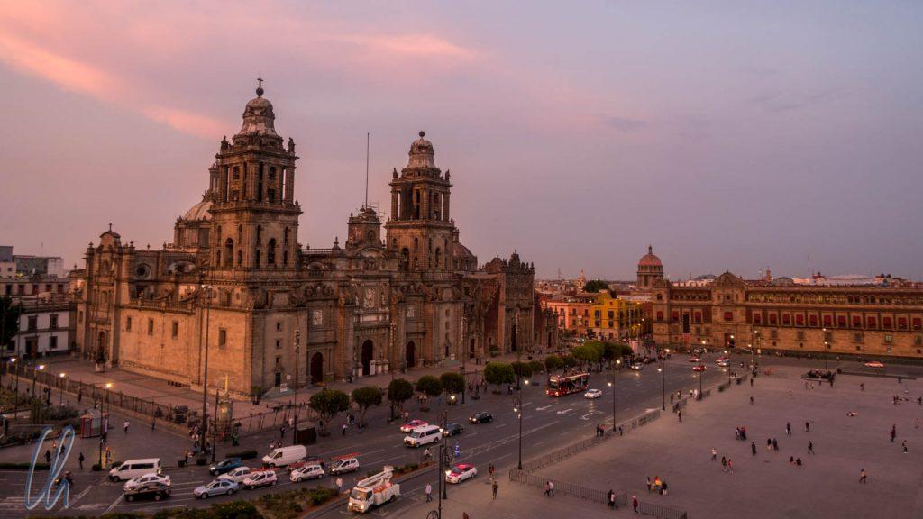 Die Kathedrale von Mexiko City