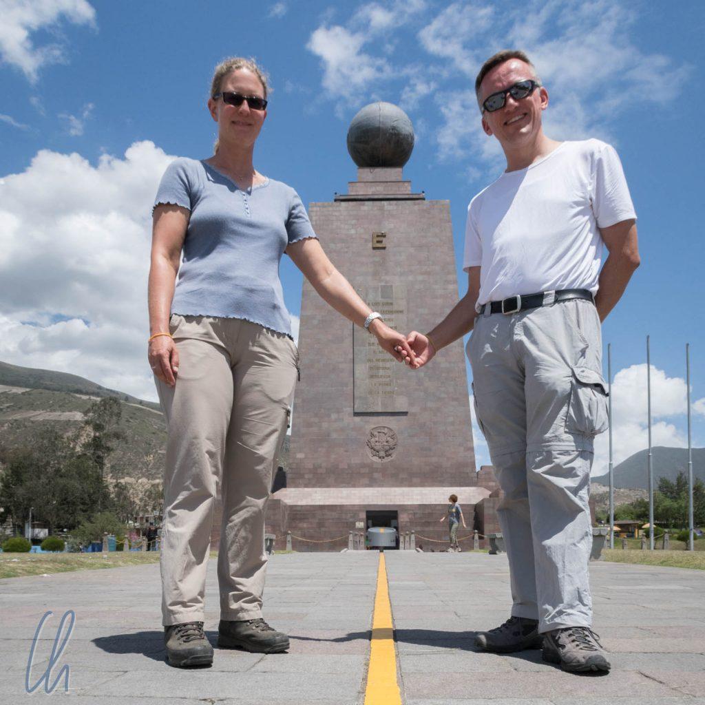 Der offiziellste Äquator von Ecuador: Mitad del Mundo