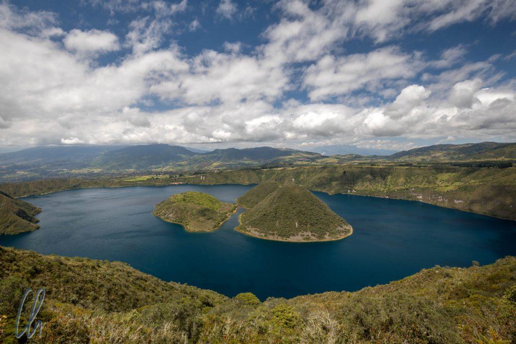 Die Laguna Cuicocha