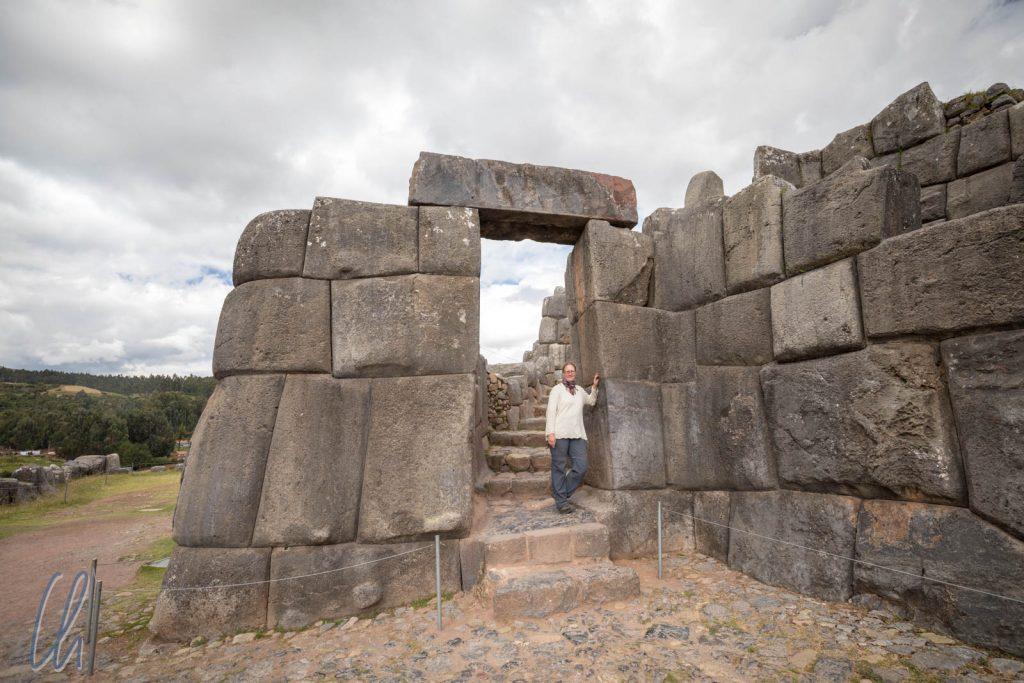 In Sacsayhuamán waren die Steine am größten.