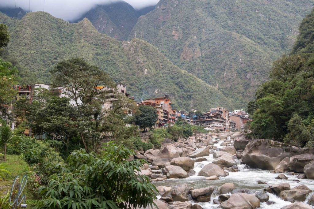 Aguas Calientes oder Machu Picchu Pueblo, klein aber trubelig