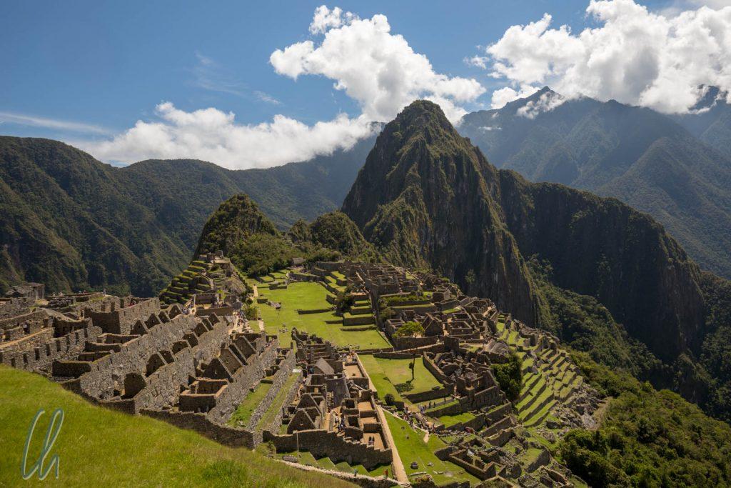 """Der klassische Machu Picchu Blick von der """"Hut of the Caretaker"""""""