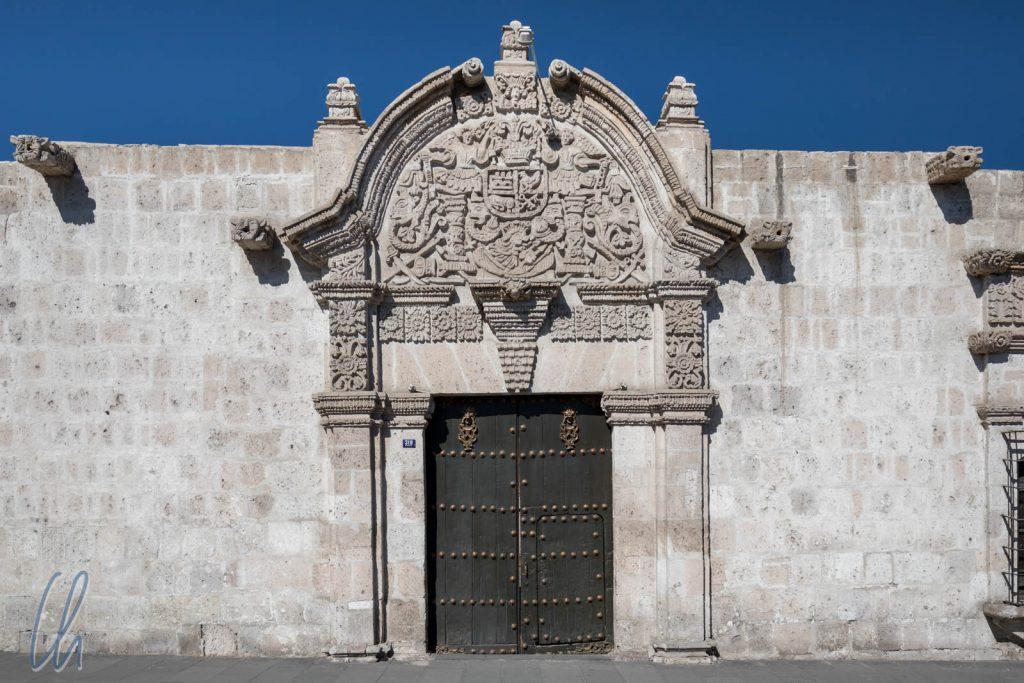 Arequipa in bestem weißen Sillar: Casa de Moral, heute beherbergt es ein Museum.