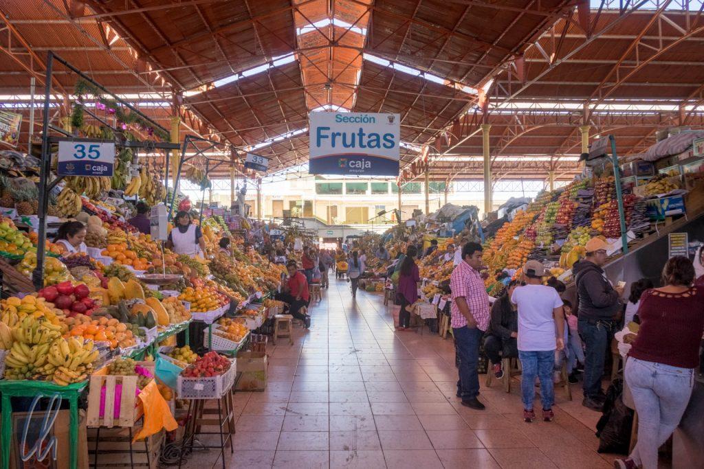 Die Markthalle von Arequipa
