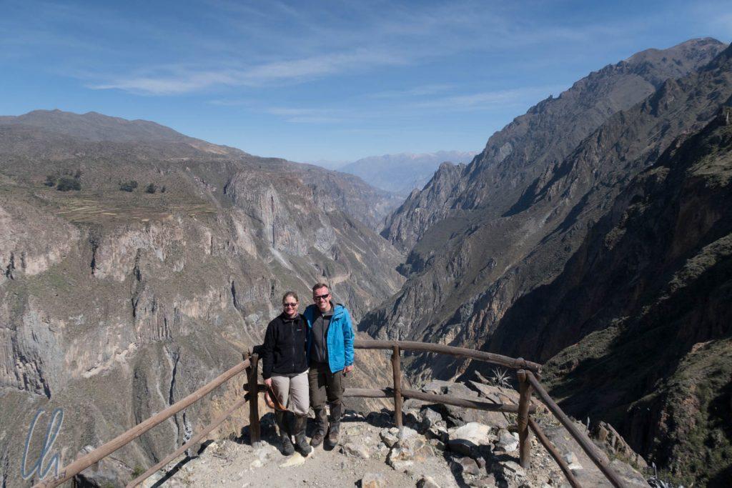 Bisher waren wir im Colca-Tal unterwegs, das ist der Colca Canyon.