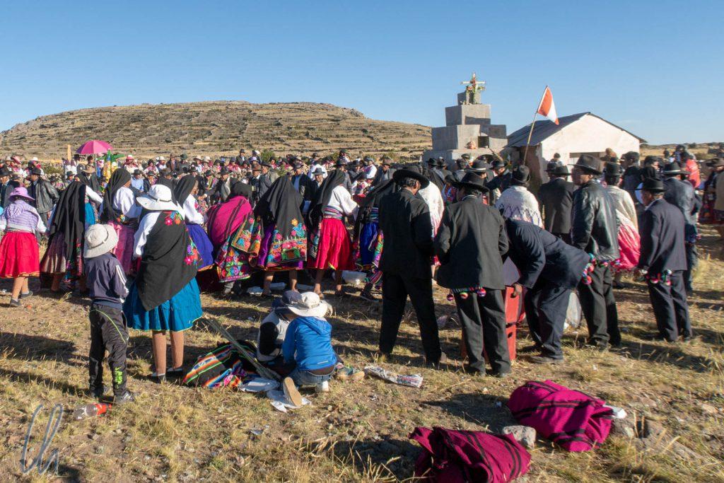 Fiesta zu Pfingsten auf Amantaní
