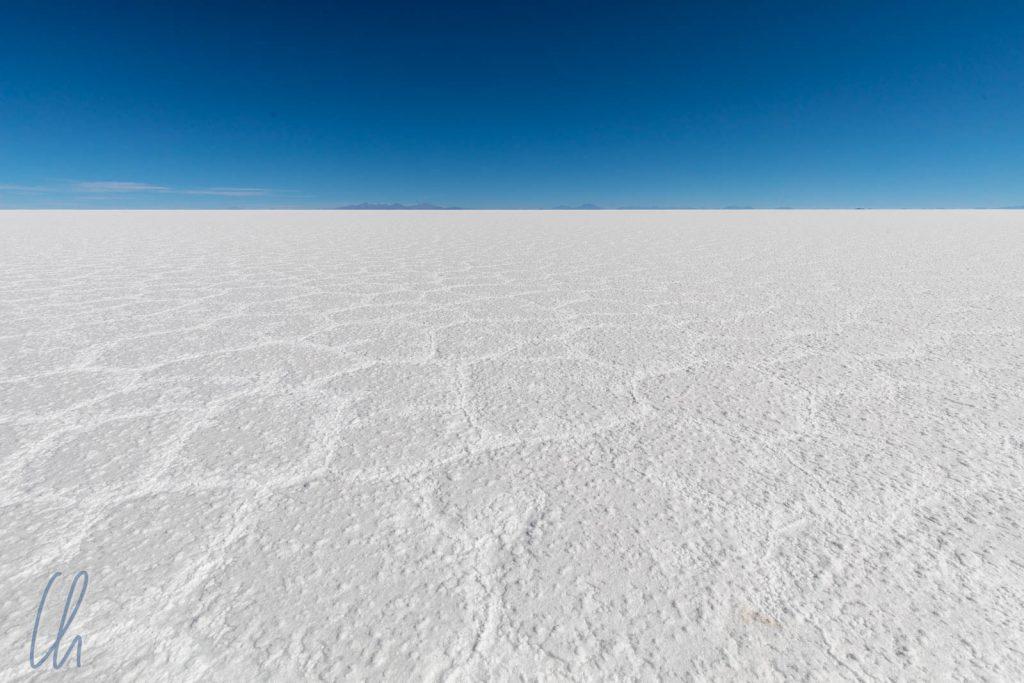 Unendliche Weiten: Salz soweit das Auge reicht