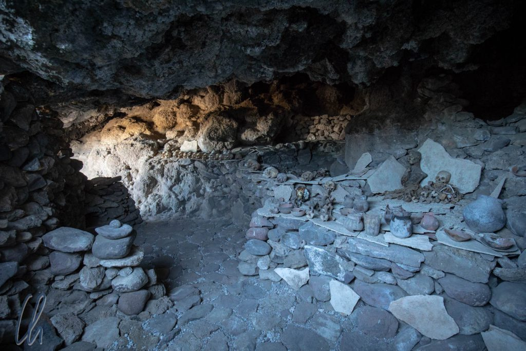Grabhöhle bei Pucara Ayque