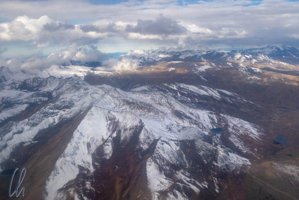 Neuschnee in den Anden