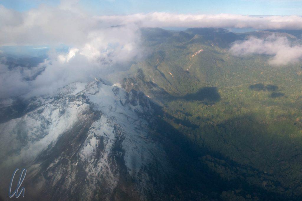 Eben noch in den Anden, jetzt schon im Amazonasbecken
