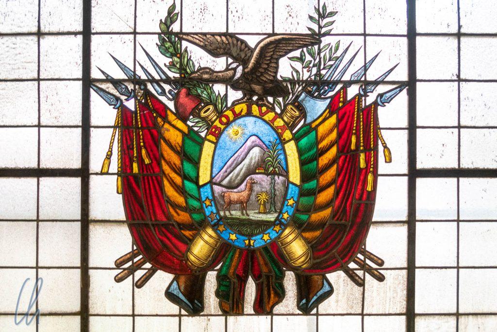 Das bolivianische Wappen