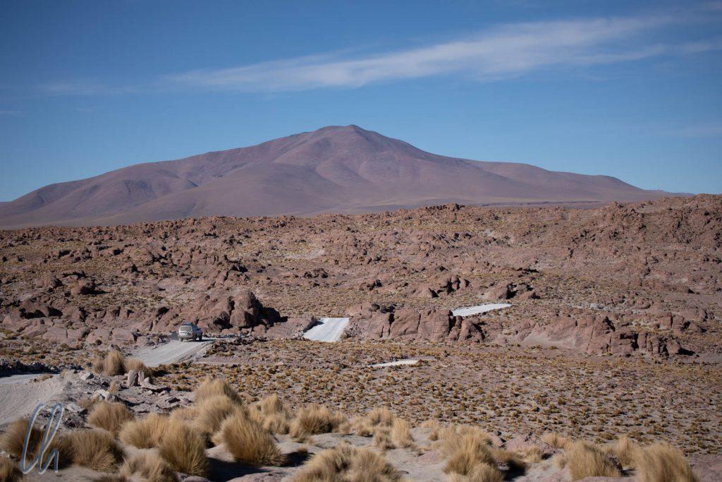 Auf der Fahrt zum Nationalpark Reserva Nacional de Fauna Andina Eduardo Avaroa