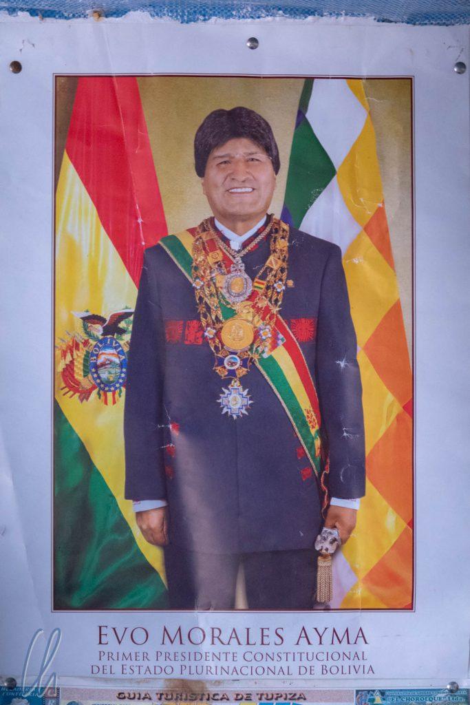 Boliviens Präsident Evo Morales ist seit Ende 2005 im Amt