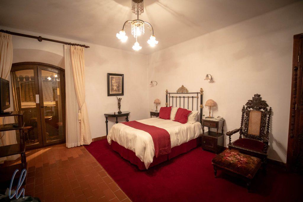 Unser Hotelzimmer mit kolonialem Charme
