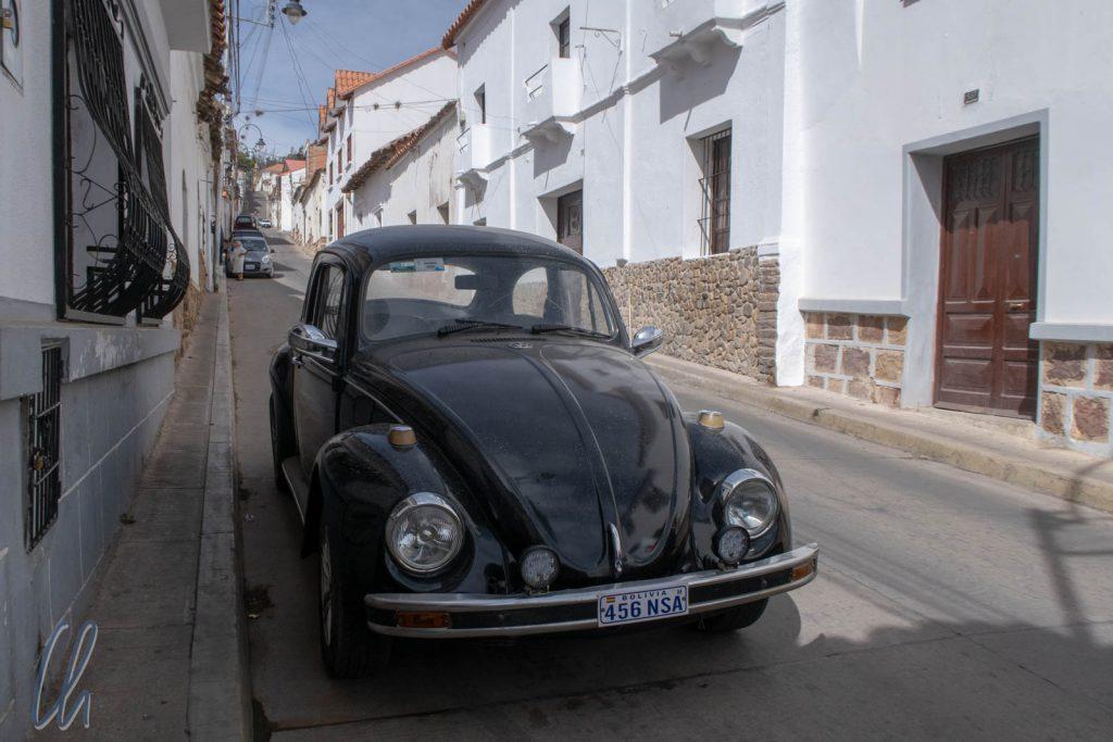 Zur Vermeidung des Käfergrußes benutzen die Bolivianer nicht die Heizung, sondern öffnen die Fenster