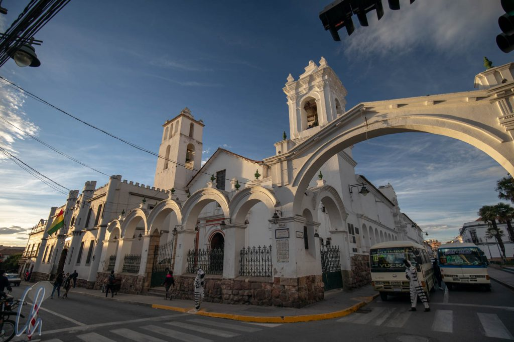 Die Kirche San Francisco / Iglesia de San Fransisco