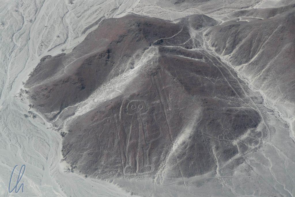 Priester, Alien, oder Fußballfan? Die Bedeutung der Nazca-Linien ist bis heute unklar.