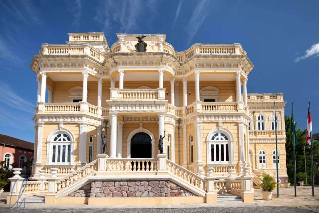 Palácio Rio Negro, erbaut vom deutschen Kautschukbaron Karl Waldemar Scholz