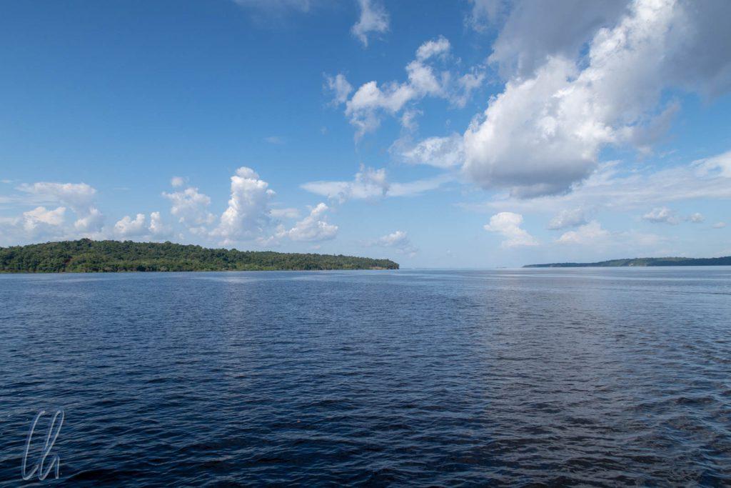 Fluss oder See? Rio Negro oder Lago Negro?