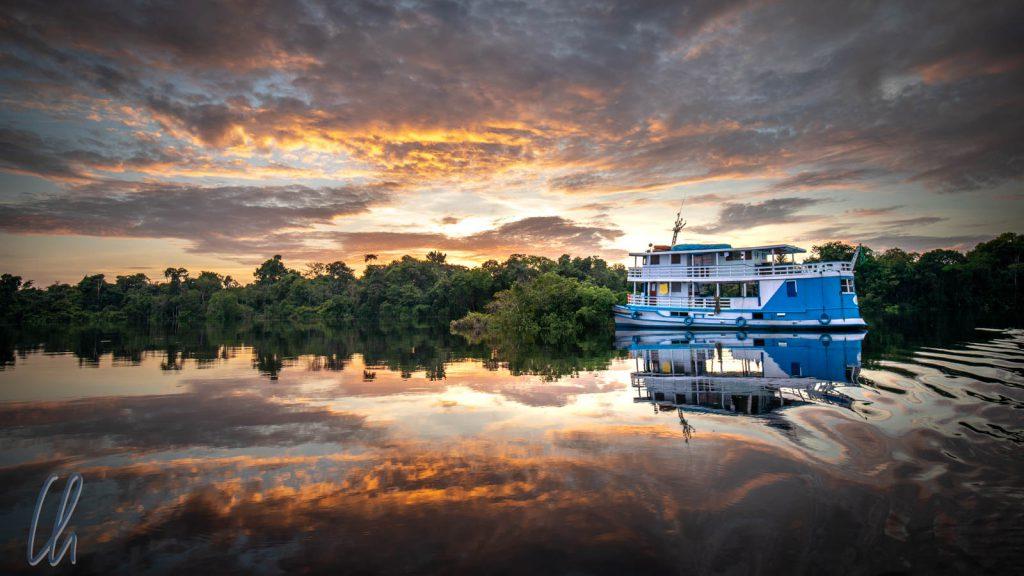 Mit der Lo Peix unternahmen wir eine 7-tägige Flusskreuzfahrt auf dem Rio Negro.