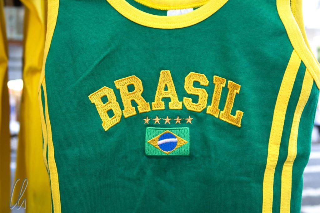 Willkommen in Brasilien! Bei unserer Ankunft lief die WM-Vorrunde und Brasilien war im WM-Fieber.