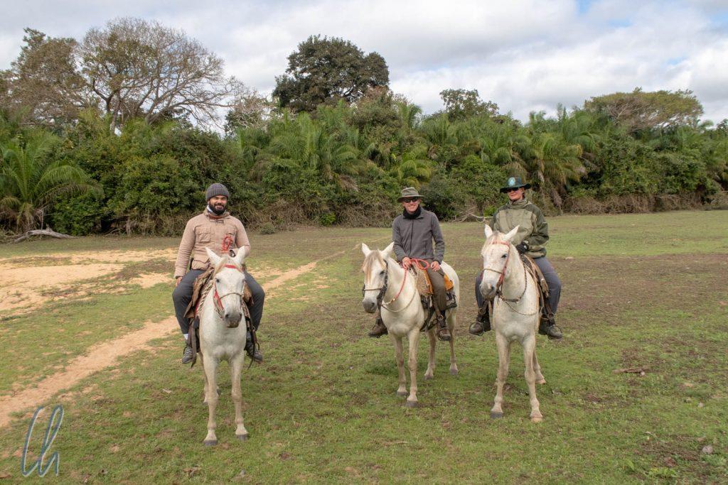 Ausritt am letzten Tag im Pantanal