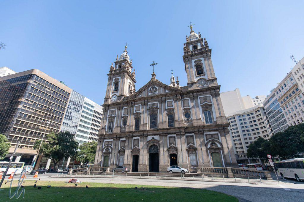 Igreja de Nossa Senhora de Candelária, geweiht 1811 in der Gegenwart von König Johann VI. von Portugal