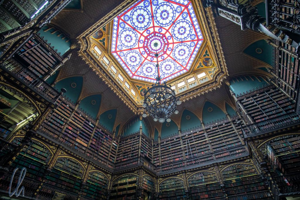 Der Lesessaal der Real Gabinete Português de Leitura