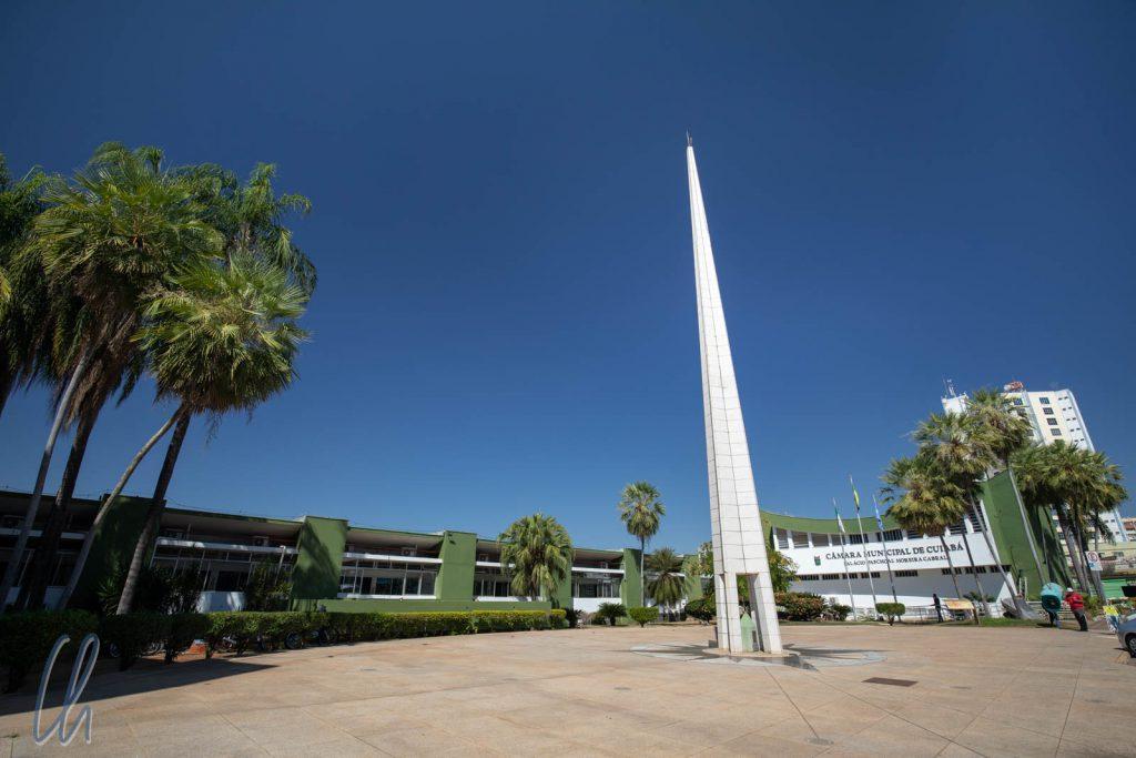 Eine der Sehenswürdigkeiten von Cuiabá: Der angebliche Mittelpunkt Südamerikas