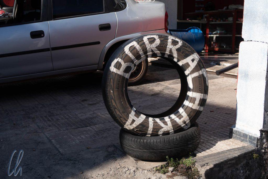 Die Borracharia: Keine Kneipe, sondern ein Reifenhändler