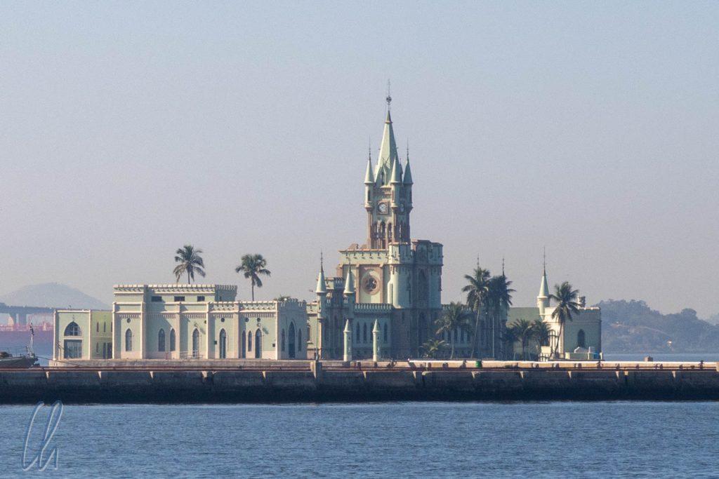 Ilha Fiscal, Märchenpalast im Hafen von Rio